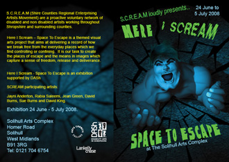 Scream Flyer